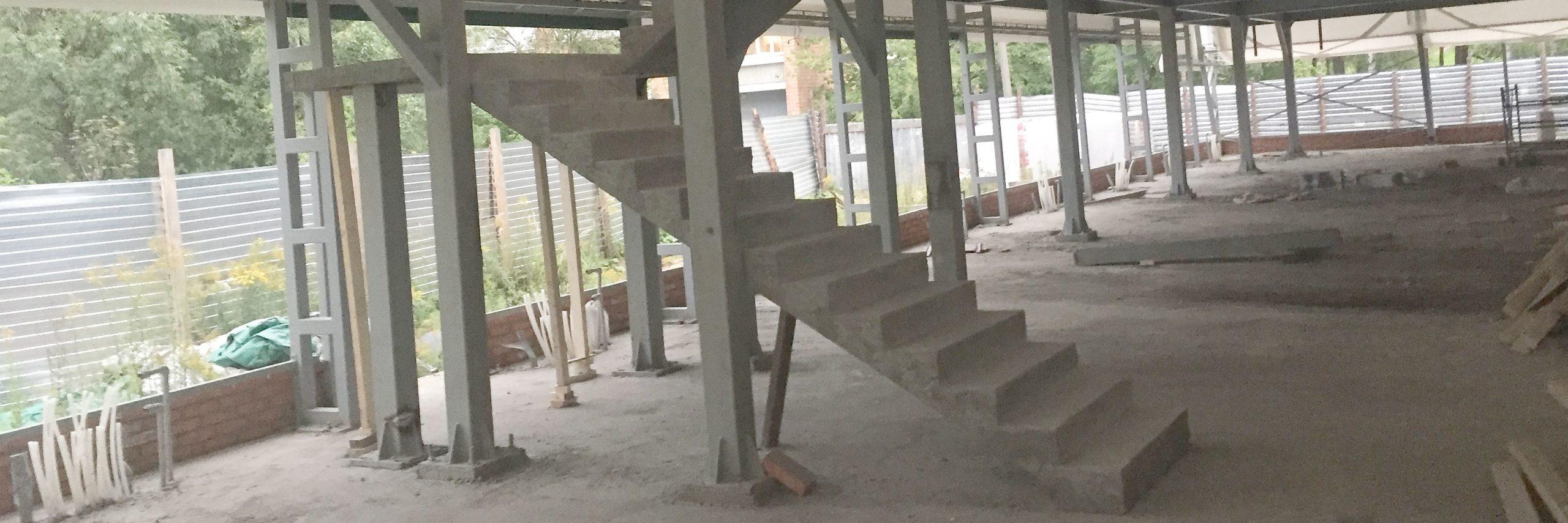 Бетонная лестница в Н.Норгороде
